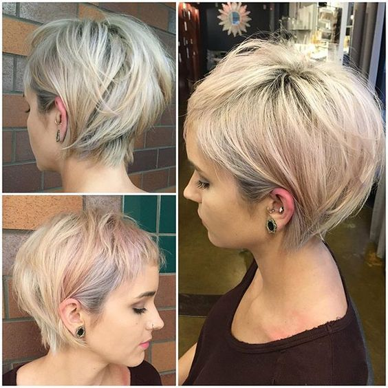 growing out short hair styles a fodr 225 szok szerint ez id 233 n a 35 legdivatosabb r 246 vid haj 1819