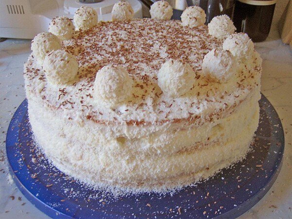 Как приготовить торт рафаэлло классический рецепт с фото пошагово